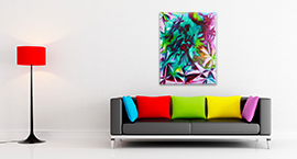 See the artwork on your wall instantly